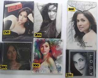 Jennylyn Mercado Toni Gonzaga Aiza Charice Agot Faith CD Album