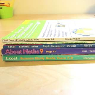 TEXTBOOK BUNDLE YR7-10!
