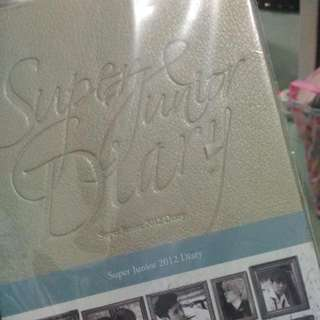 Super Junior SJ Diary 2012