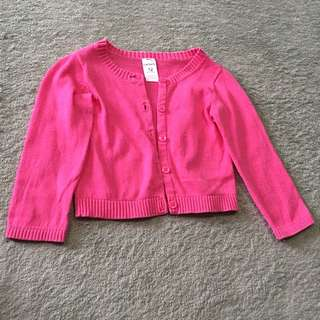 Cardigan/sweater for baby girl