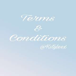 [T&Cs] Terms And Condition
