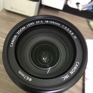 Canon lens (18-135mm)