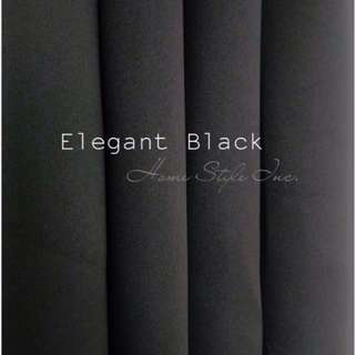 Blackout Curtain (Black)