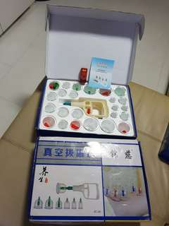 Cupping kits 24 cups