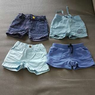 Short Pants size 0-6 months