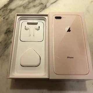 IPhone 8 Plus 原裝 全新 插頭連盒