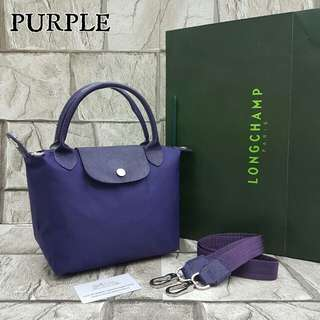 Longchamp Neo Small Purple