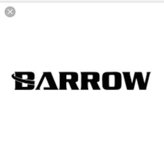 Barrow water cooling parts