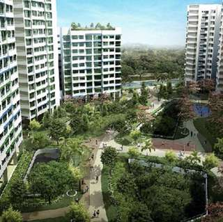 5BR flat@Punggol waterway - 2 rooms for Rent