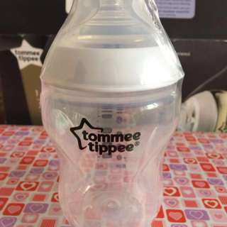 Tommee Tippee 9oz / 260ml Plain White Feeding Bottle Loose (No box)