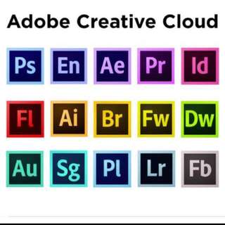($15 ONLY) macOS Adobe Creative Cloud Suite Apps LIFETIME
