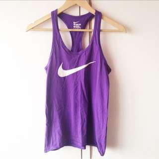 Nike sports violet tank top