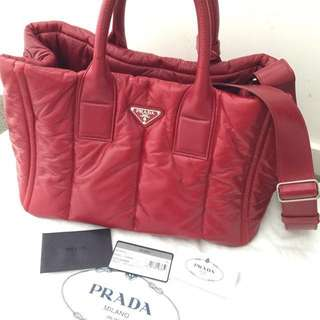 Authentic PRADA with Lambskin