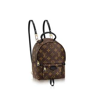 (BN) LV palm springs backpack mini