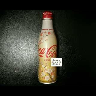 日本可口可樂日本2018年新春限量版鋁樽 (250ml)