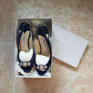 NEW Jimmy Choos (Sapphire Blue)