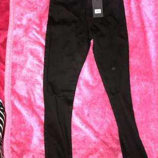 GLASSONS skinny ankle glazer jeans BLACK