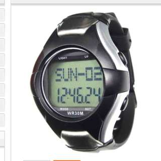 LEAP watch with heart rate monitor