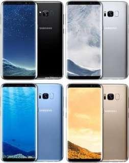最新款 超底用屏幕小花 三星Galaxy S8 / S8+ 加大版 6.2吋 $2699