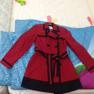 Light Winter/Spring Coat, wear once during trip only