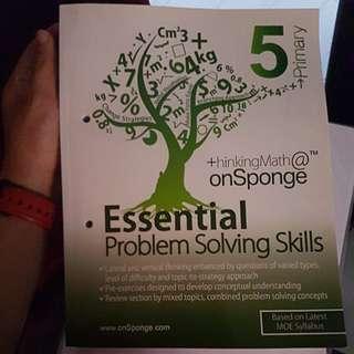 P5/P6 MATHS Assessment Books