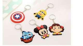 Cute character key chain
