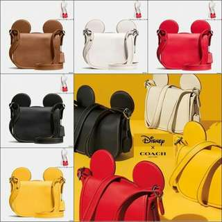 Hand bag Coach Mickey 💯 Authentic