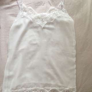 Summer lace singlet