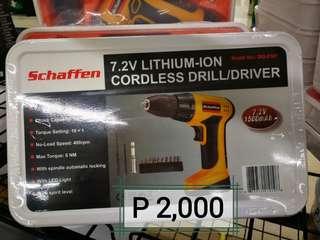 Schaffen Cordless Drill