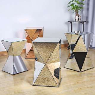 30% off - Mirror Puzzle Side Table (Clearance!)