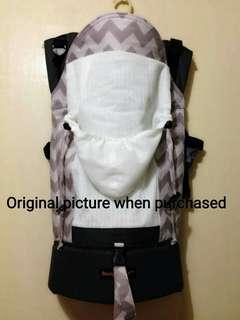 Bamberoo Full Canvas Carrier Semi Custom (alat penggendong bayi)