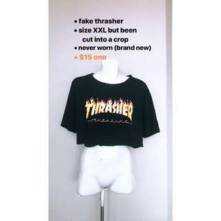 Thrasher crop