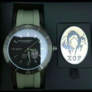 美國 Seiko XNY x metal gear solid 5 ground zeroes XOF watch