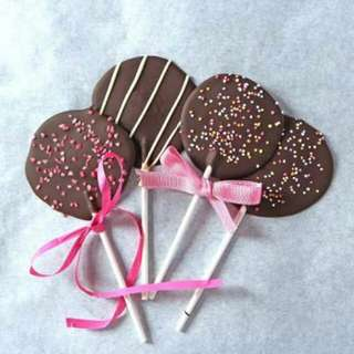 Party lolipop chocolate