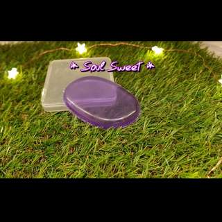 Silicon makeup sponge / puff Purple