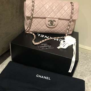 Authentic Chanel Maxi Lambskin