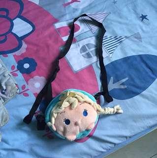 Tas selempang sling bag frozen elsa