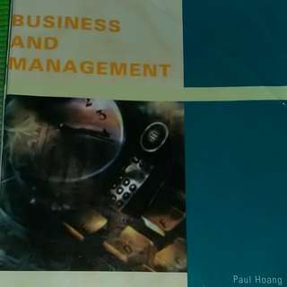 BUSINESS AND MANAGEMENT by Paul Hoang