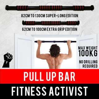 Pull Up Bar No Screws Required