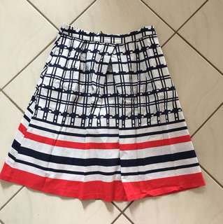 Sunny Girl Size 12 High Waisted Skirt