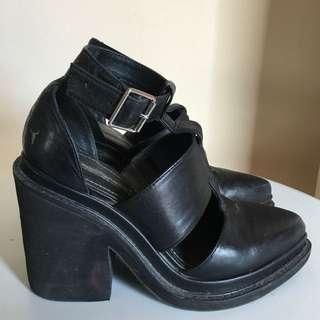 Windsor Smith - black block heels
