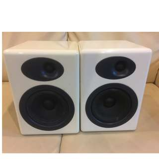 Audioengine A5 passive speaker pair in white
