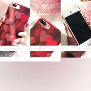 #A-017 #iPhone#case#電話殼#心形#浮雕
