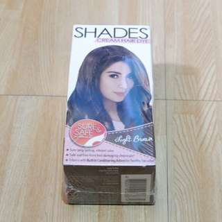 Shades Hair Cream Dye - Light Brown