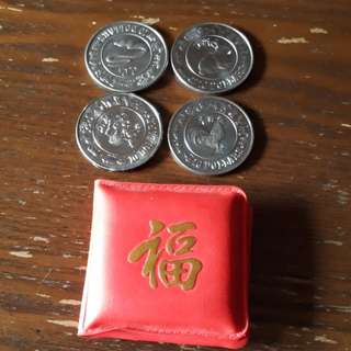 (16 Pcs Left) $10 Chinese Horoscope Commemorative Coins
