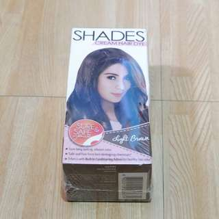 Shades Hair Colour - Light Brown