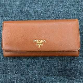 Used Prada Long Wallet