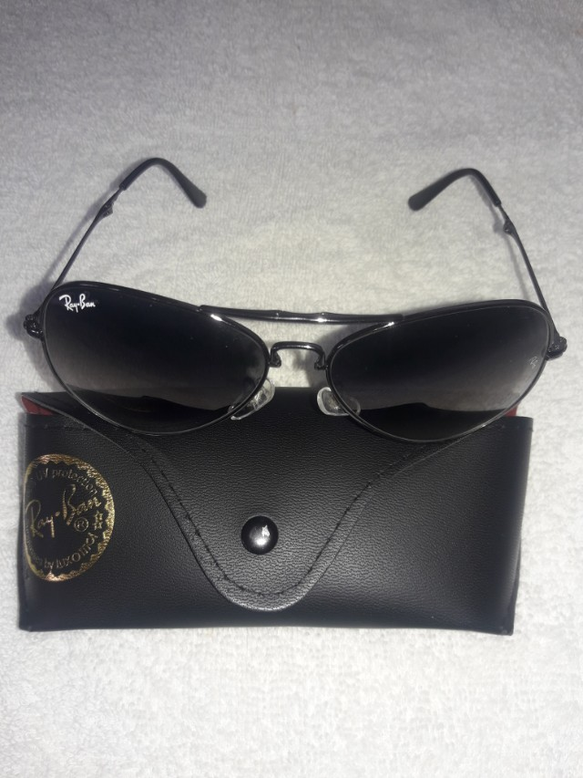 55a50afb503c6 100% Authentic Genuine Origenal Ray-Ban Sunglasses