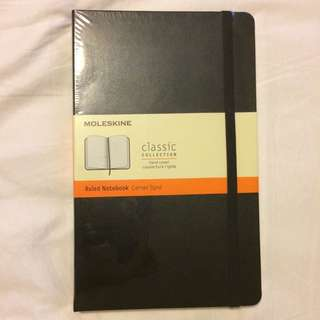 New Moleskin Notebook
