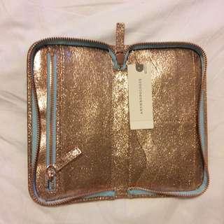 Rose Gold Leather Wallet